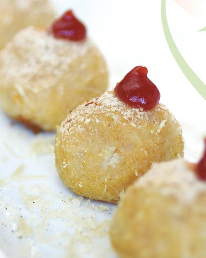 Buñuelos de papa. Una deliciosa receta. Foto: Fedepapa