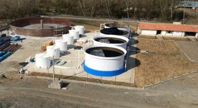 Nuevo acueducto de San Juan de Urabá donado por el Ministerio de Vivienda. Cortesía: Ministerio de Vivienda