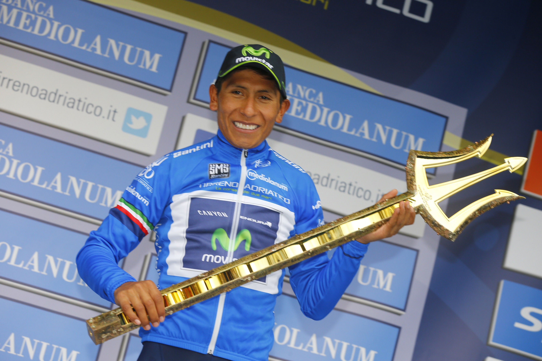 Nairo Quintana ganó el Tirreno Adriatico 2015