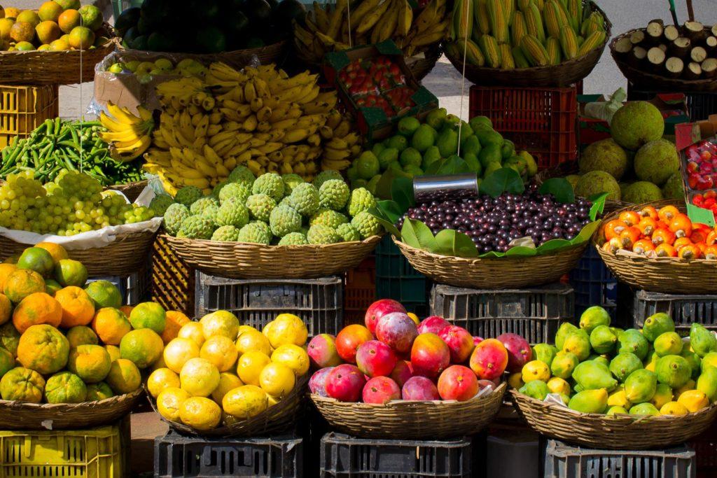 Frutas y verduras en desperdicio