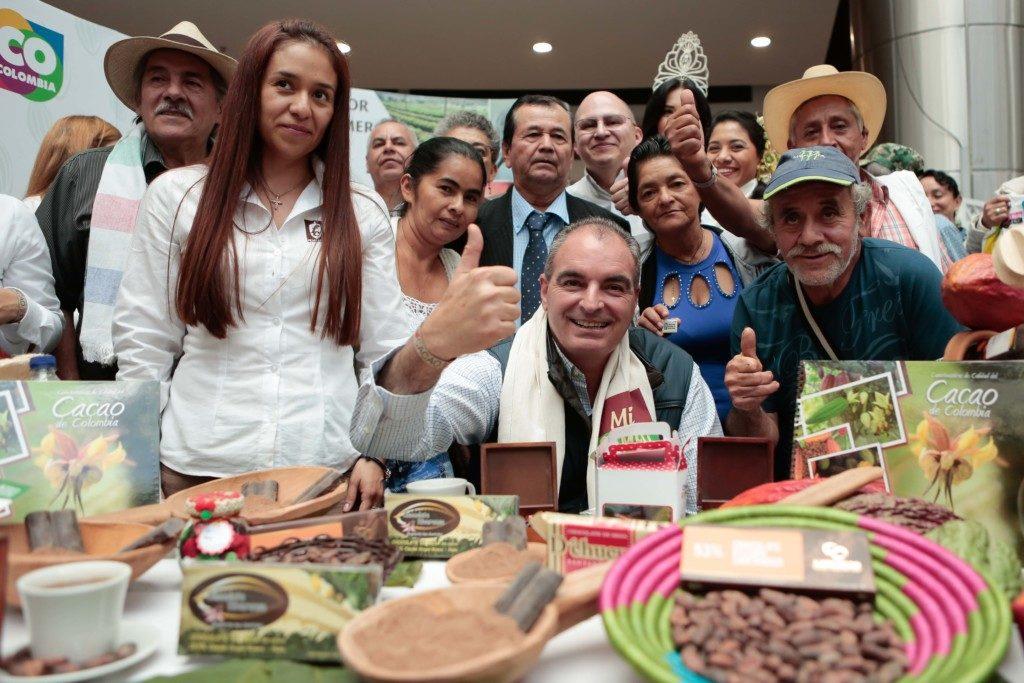 Feria de cacao y chocolate