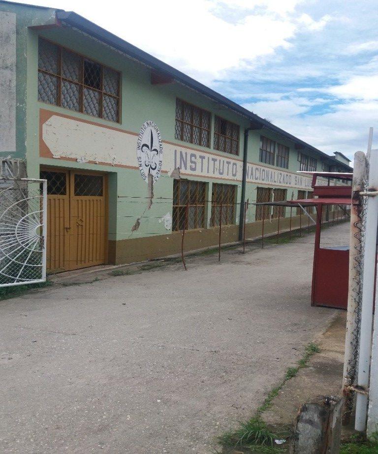Colegio ruso al final